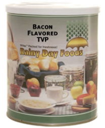 Bacon Flavored TVP #2.5 can