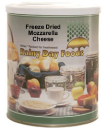 Freeze Dried Mozzarella Cheese #2.5 can