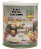 Black Pepper Seasoning #2.5 can